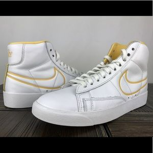Nike Women's Blazer mid CJ3643-100 white/topaz 6.5